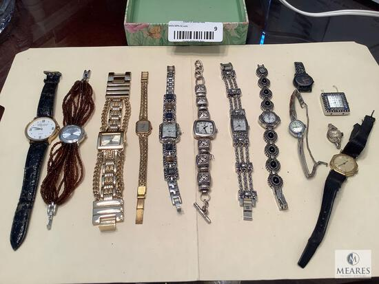 Mixed Lot of 13 Wristwatches
