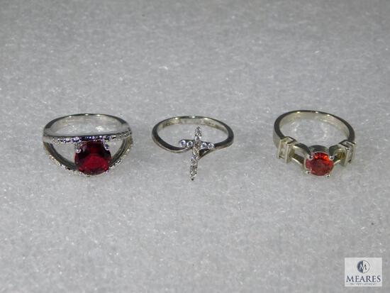 Lot Of Three Rings