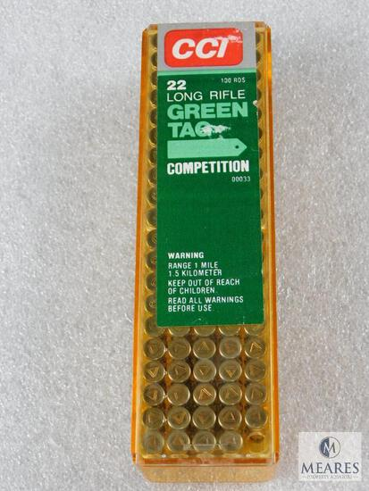 99 Rounds CCI Green Tag Competition .22LR Ammo