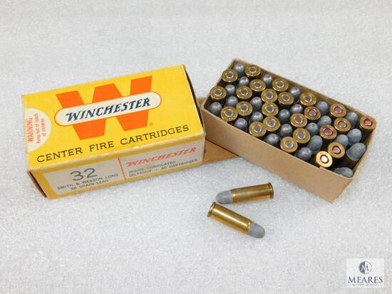 50 Rounds Winchester .32 S&W Long 98 Grain Ammo