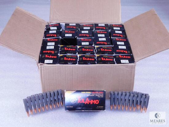 1000 Rounds Tula 7.62x39 Ammo. 122 Grain FMJ