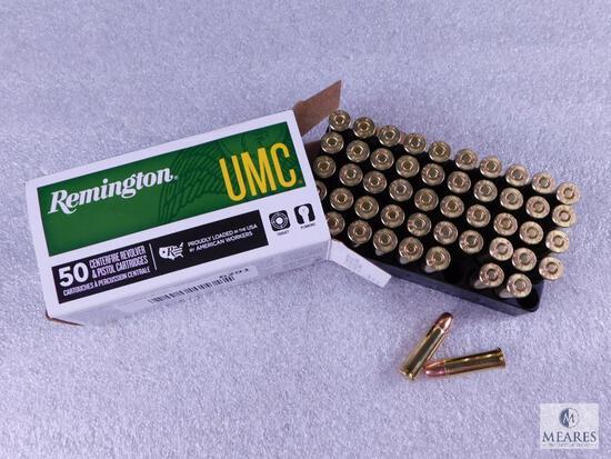 50 Rounds Remington UMC .38 Special Ammo. 130 Grain FMJ
