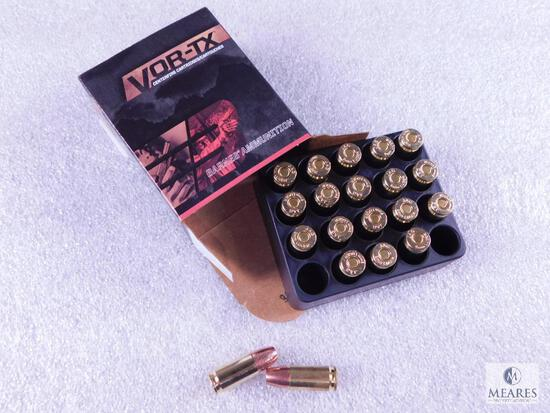 20 Rounds Barnes 9mm 115 Grain XPB Hollow Point Self Defense Ammo
