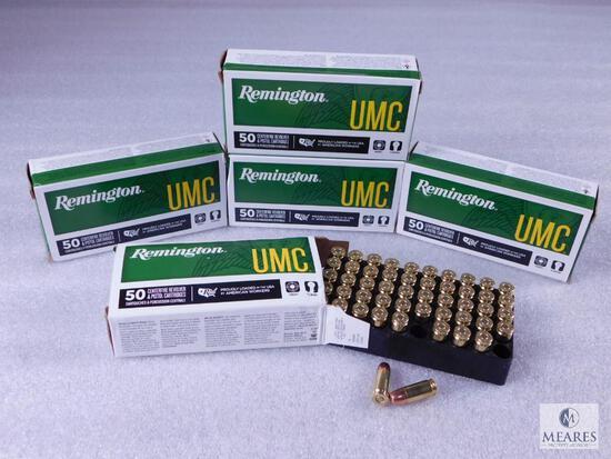 250 Rounds Remington 9mm Ammo. 147 Grain FMJ