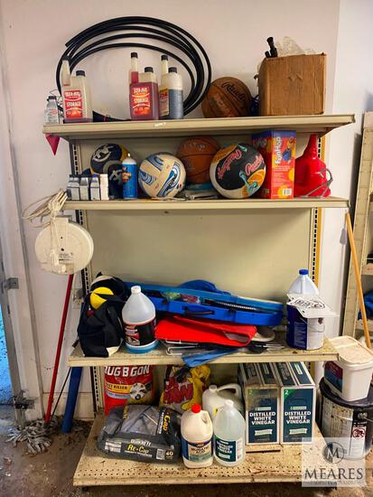 Contents of Garage Shelf Section (PICKUP ONLY)