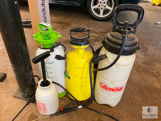 Group of FOUR Pressurized Spray Bottles (PICKUP ONLY)