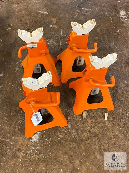 Group of FOUR Heavy Duty Jack Stands - 3-ton Each (PICKUP ONLY)