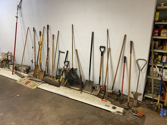Large Lot of Yard Tools (PICKUP ONLY)
