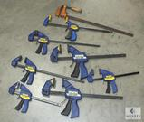 Lot of Irwin Quick-Grip Bar Clamps