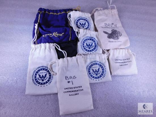 Nine Assorted Nylon and Canvas Bags