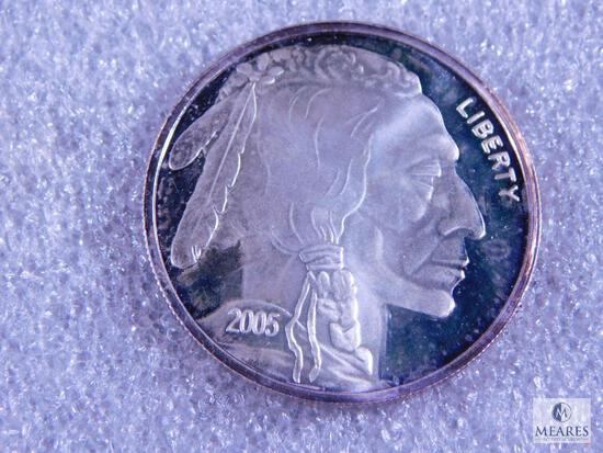 2005 Buffalo Nickel 1 oz. .999 Fine Silver