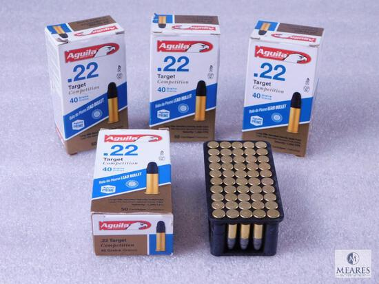 200 Rounds Aguila .22 Long Rifle Target