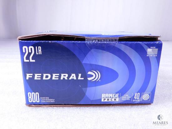 800 Rounds Federal .22 Long Rifle 40 Grain Target