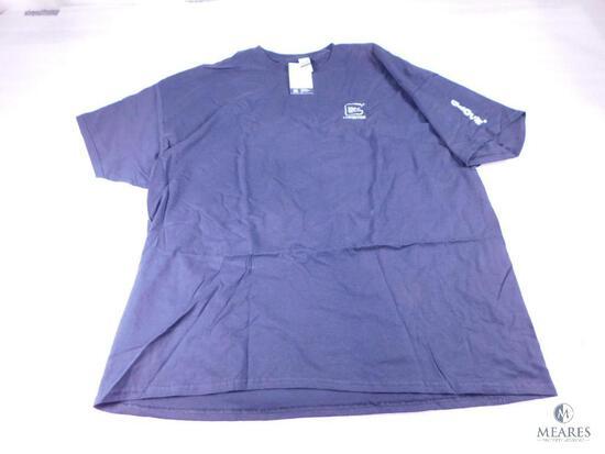NEW Glock Mens 3XL Factory Black T-Shirt