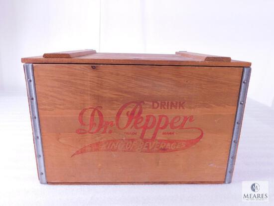 Vintage Dr.Pepper Wooden Crate