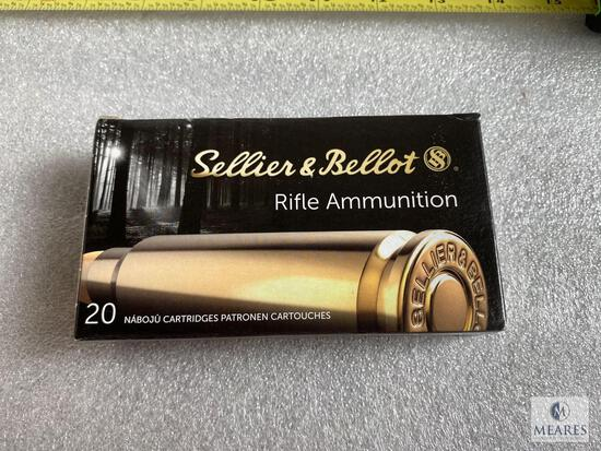 20 Rounds Sellier and Bellot 6.5 Creedmoor Ammunition 131 Grain SP