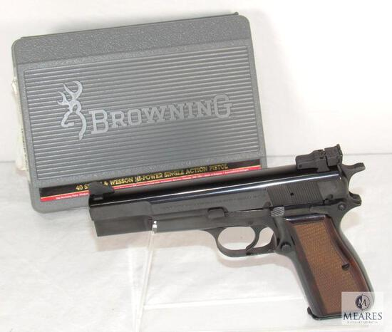 Browning Hi-Power HP40 .40 S&W Semi-Auto Pistol - Immaculate Condition!