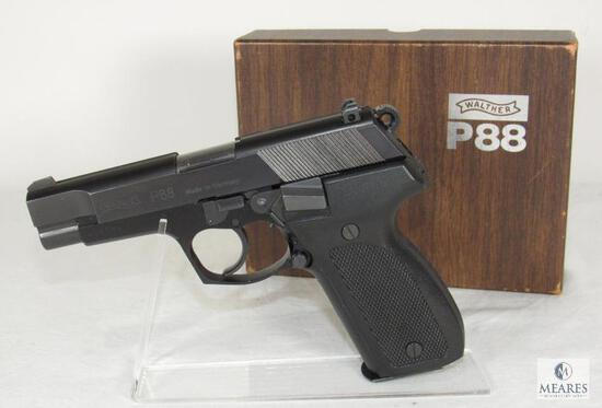 Walther P88 Standard 9mm Semi-Auto Pistol Like New with Box!