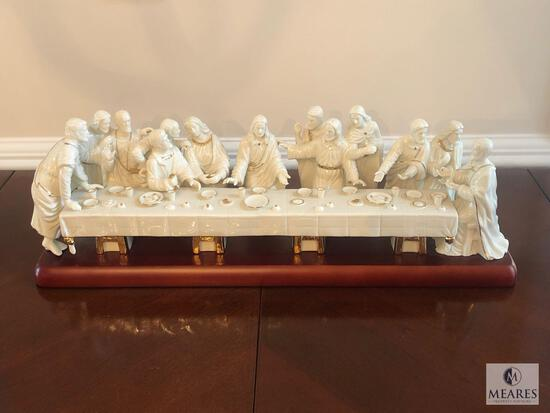 Mikasa Fine Porcelain Lord's Last Supper with 24K Gold Accents