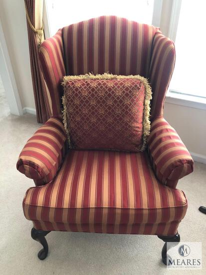 Woodmark Wingback Occasional Arm Chair