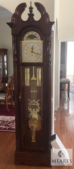 Beautiful Howard Miller Grandfather Floor Clock