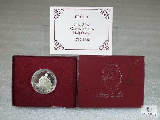 1982-S 90% Washington Commemorative Half Deep Cameo Proof in Original Mint Package