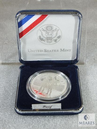 2004 Lewis & Clark Commemorative Silver Dollar Deep Cameo Proof Mint Box