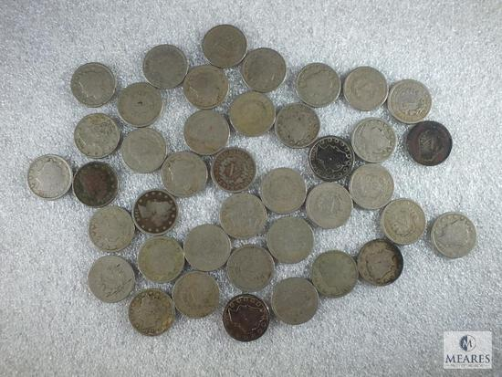 Roll of 40 Liberty Nickels