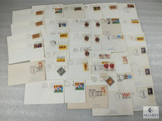 Many 1st Day Covers Including 25th Anniversary of Air Force, Christening of US Ships