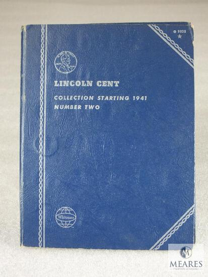 1941-971 Lincoln Cent Book - Complete With Mostly BU Includes 1943 P-D-S War Cents