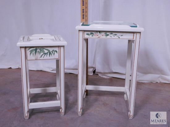 Set of Two Plant Stands
