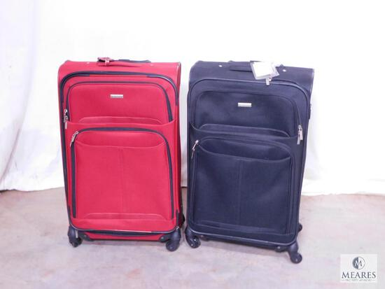 Two Pieces of Rolling Luggage