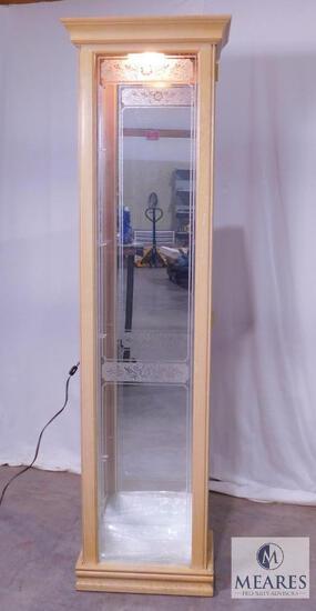 Philip Reinisch Illuminated Curio Cabinet