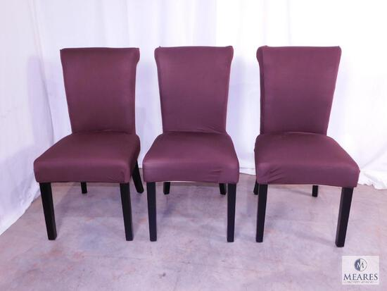 Group of Three Upright Occasional Chairs