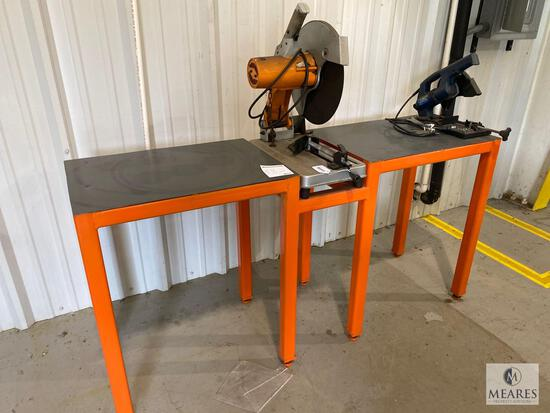 Work Table with Chicago 6-inch Cut Off Saw