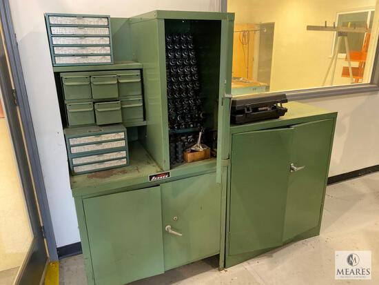 Sunnen Metal Cabinet with Contents (Honing Machine Hardware)