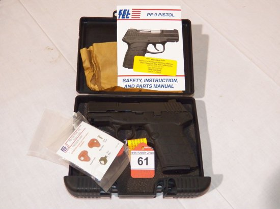 New Kel-Tec PF-9 9mm Pistol -     Auctions Online | Proxibid