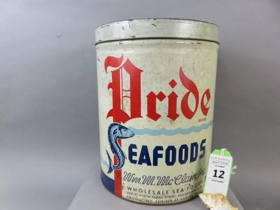Pride Seafood Tin