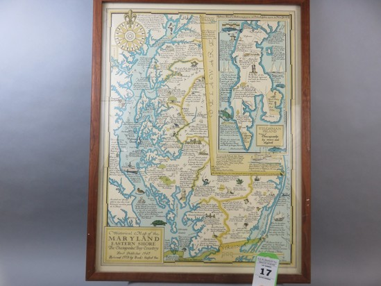 Historical Map/Maryland Eastewrn Shore