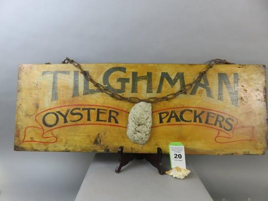 Tilghman Packing Oyster Sign