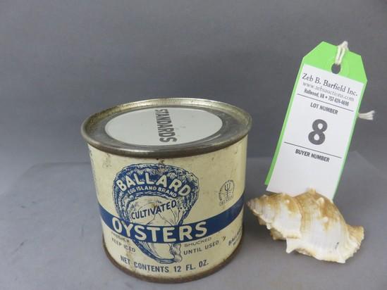 Ballard Oyster Can