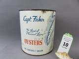 Capt. Fisher Oyster Can