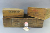 Lot of 3 Ammo Boxes