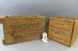 Lot of 2 Ammo Boxes