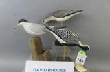 3 David Rhodes Carvings