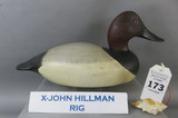 Canvasback From the X-John Hillman Rig