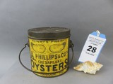 A. Phillips Bail Oyster Can