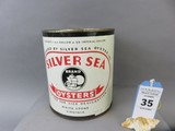 Silver Sea Oyster Can