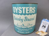 Quinby Brand Oyster Can