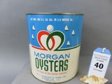 Morgan Oyster Can